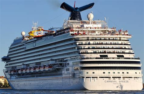 Carnival Breeze - Itinerary Schedule Current Position | CruiseMapper