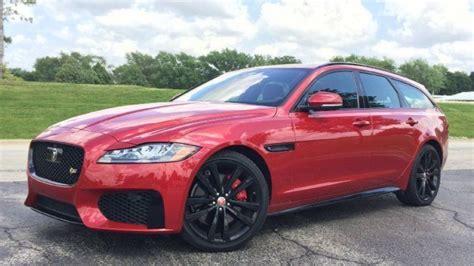 review  jaguar xf sportbrake   family truckster