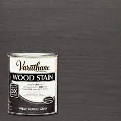 varathane 1 qt 3x weathered gray premium wood stain case