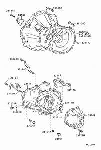 Toyota Corolla Cover Sub-assembly  Manual Transmission Case  Mtm  Cnd  Driveline