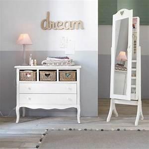 Miroir 160 Cm : miroir psych avec rangement blanc h 160 cm valentine maisons du monde ~ Teatrodelosmanantiales.com Idées de Décoration