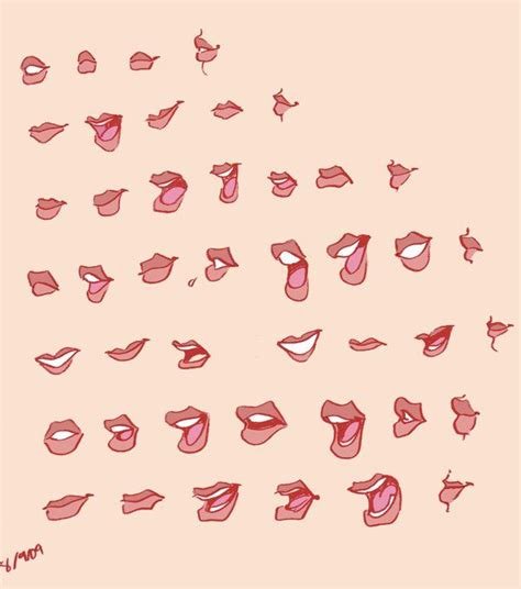 lips  fyuvixdeviantartcom  atdeviantart art
