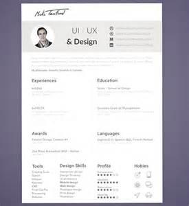 user interface designer resume sle sle designer resume template 16 documents in pdf psd