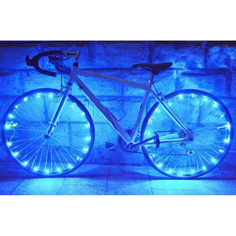 bicycle 20 led bike cycling lights led wheel spoke