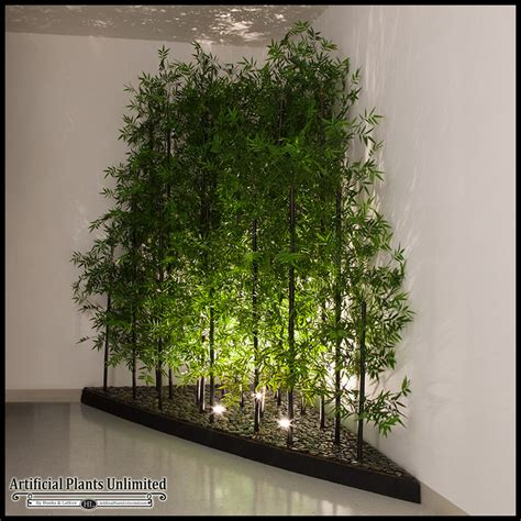 indoor artificial bamboo plants trees artificial