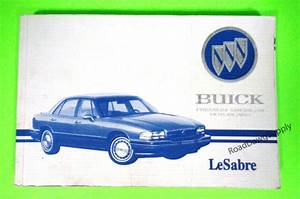 1995 Buick Lesabre Owners Manual Owner U0026 39 S Guide Book