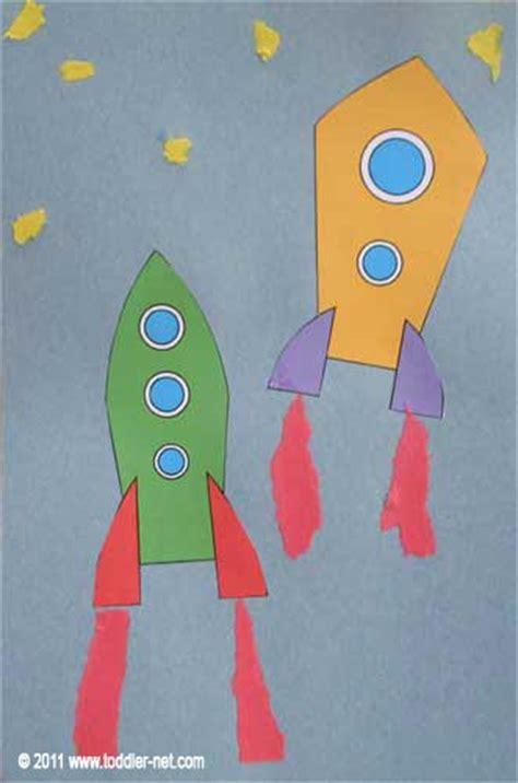spaceships art project  kids