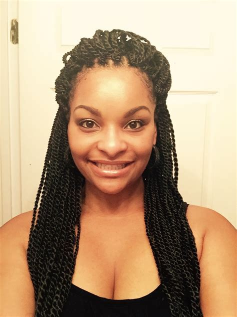 Medium Senegalese Twists With Highlights Freetress Braid