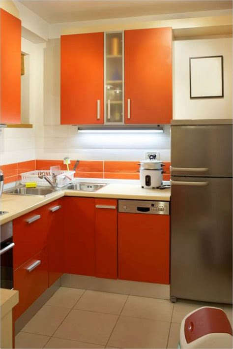 Kuche Orange by Orange Kitchen Ideas For Fresh Contemporary Kitchen Diy