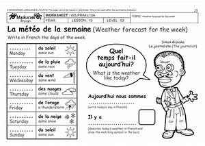 FRENCH-Y4/5- AT SCHOOL: The days of the week/ Les jours de ...