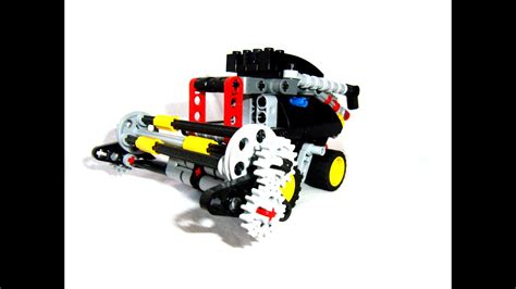Lego Technic Combine by Lego Technic Combine Harvester From 8051 Set
