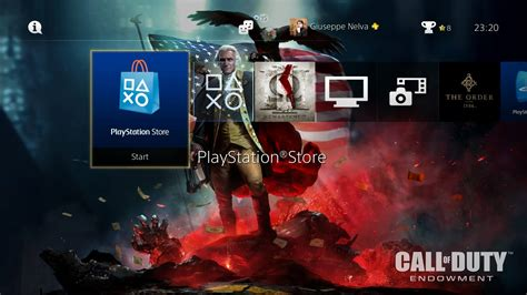 grab a patriotic ps4 theme and help veterans with call of duty charity screenshots inside