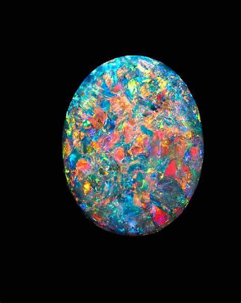 "A World-Class Gem-Quality Australian Black Opal—""The"