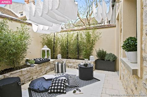 wonderful amenager  jardin en longueur  quatre