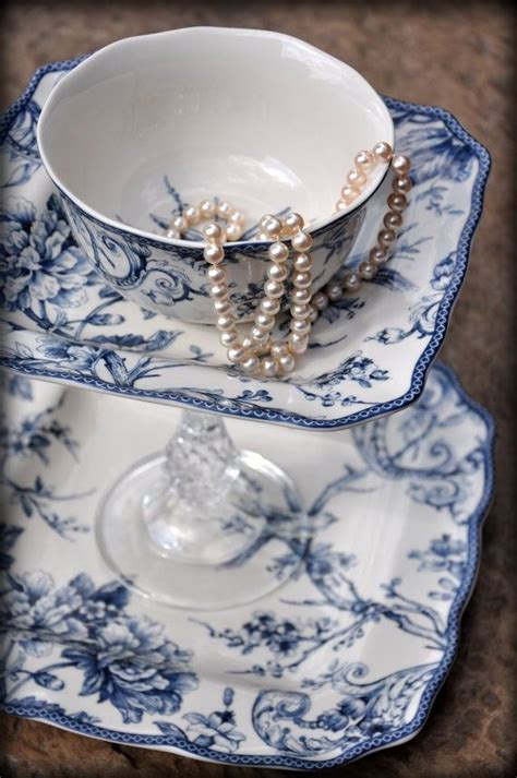 Like many popular wedding customs, this practice. A Cup of Pearls | Blue and white china, Blue and white