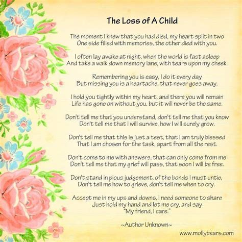 Bible Quotes About Loss of a Child