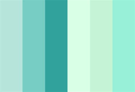 color mint mint color palette