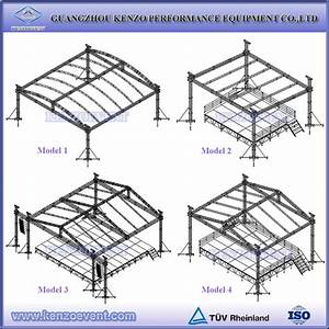 aluminum outdoor stage roof truss cheap arched roof truss With cheap roof trusses