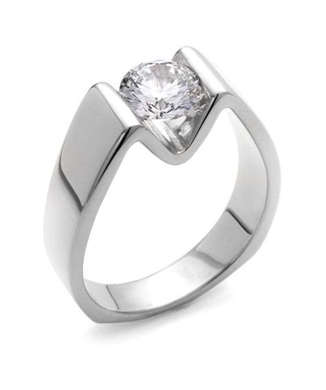 the blissful engagement ring contains 1 diamonds totaling