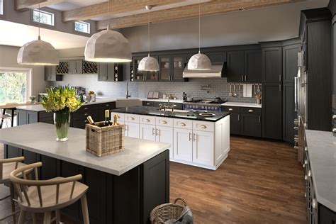 White Cabinets Dark Grey Countertops by Buy Graystone Shaker Kitchen Cabinets Online