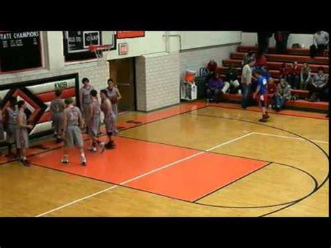 knob noster high school knhs basketball vs clinton varsity