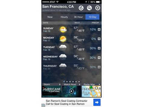 weather channel app for iphone how much is much to spend on a mobile app cio