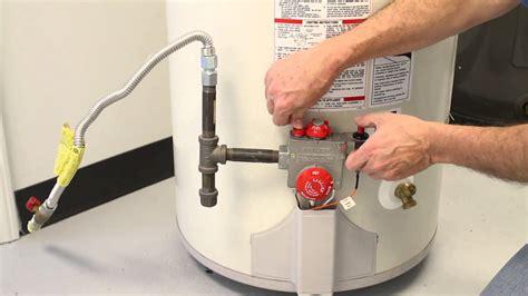 water gas light how to relight a water heater pilot light autos post