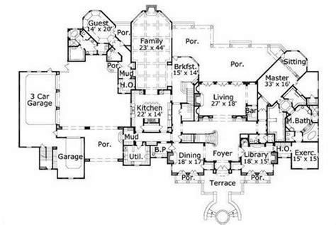 luxury house plans luxury mansion floor plans