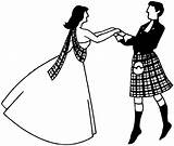 Scottish Dancing Dance Clipart Couple Country Cliparts Club Clip Line Library Meopham Hints Tips Link sketch template