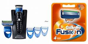 Gillette Fusion Proglide Styler Men Trimmer Shaver With 1