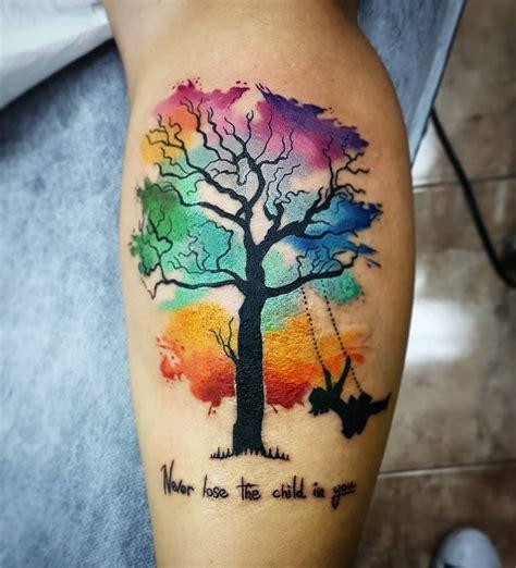 pin de gabriela espasandin en ba tatuajes de colores