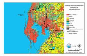 Tampa Bay  Anclote River Watershed Distribution Of 1999