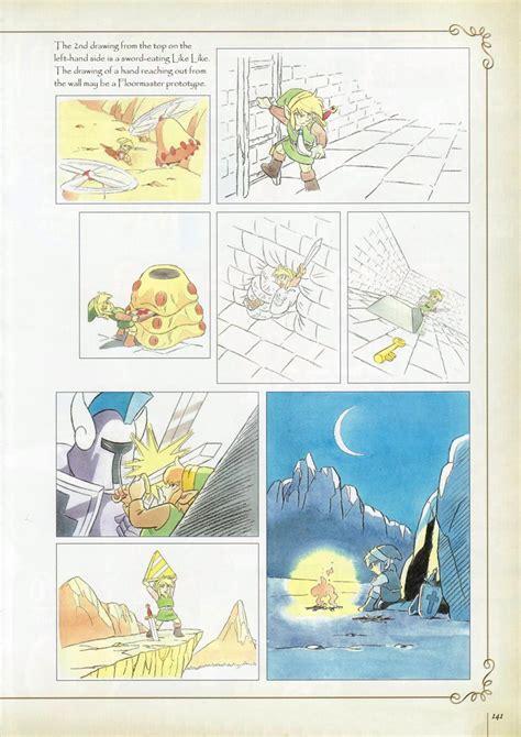 Original Legend Of Zelda Concept Art In Hyrule Historia