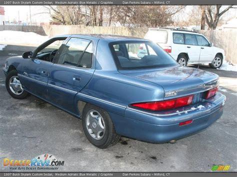1997 Buick Skylark Custom by 1997 Buick Skylark Custom Sedan Medium Adriatic Blue