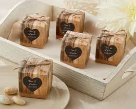 wedding favors rustic wedding favor boxes rustic themed wedding favors by kate aspen