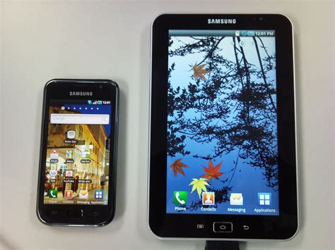 samsung android tablet samsung reveals samsung galaxy tab 7 quot android tablet