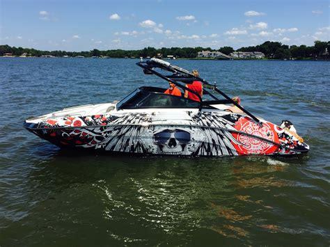 Mastercraft Boat Graphics by Boat Wraps Portfolio Vinyl Boat Graphics Boat Wraps