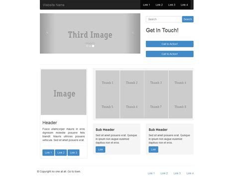 Twitter Bootstrap Templates Buy by How To Create Bootstrap Template Images Template Design