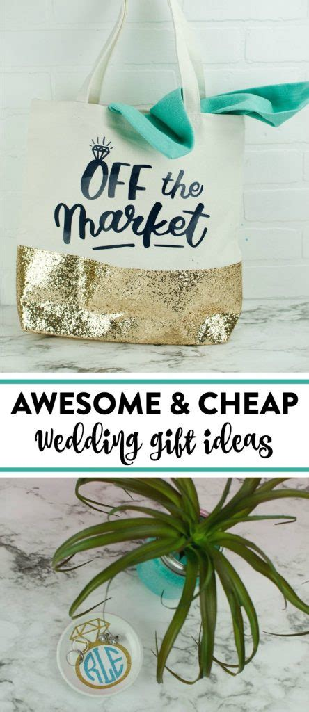 cheap diy wedding gifts a little craft in your day