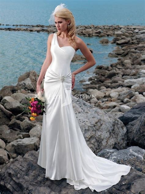 exotic strapless beach wedding dresses fashion