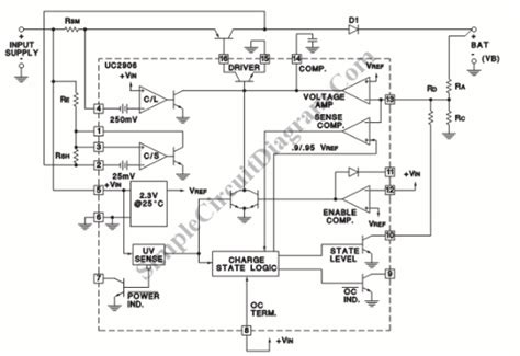 Sealed Lead Acid Battery Charger Simple Circuit Diagram