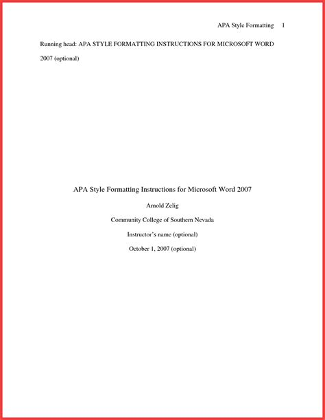 apa title page template apa title page exle 2016 memo exle