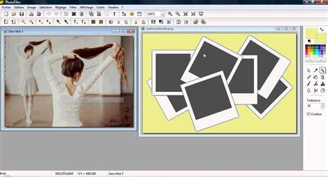 mettre un cadre sur une photo tuto photofiltre mettre une image dans un cadre polaroid