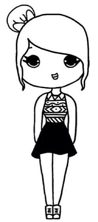 pin  stephanie knowles keenan  art chibi girl