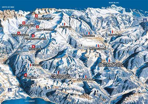 domaine skiable morzine station et pistes de ski morzine ski planet