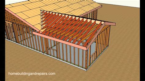Framing A Hip Roof Addition by How To Attach Home Addition Roof Framing To Existing