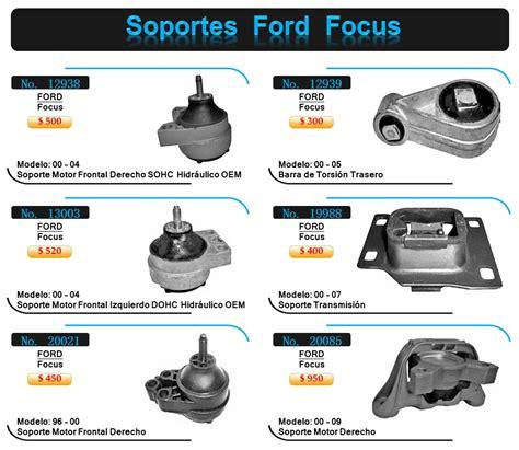 soportes de motor ford focus