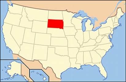 Dakota South Map Wikipedia Usa Sd Wikimedia