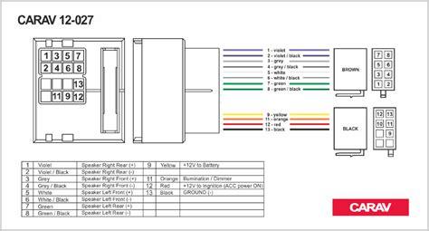 carav 12 027 iso radio adapter for renault fluence megane iii scenic grand scenic wiring