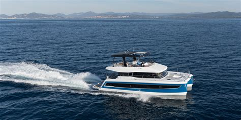 Queensland 55 Power Catamaran For Sale by The Fountain Pajot 44 Is All About Speed Space And Comfort